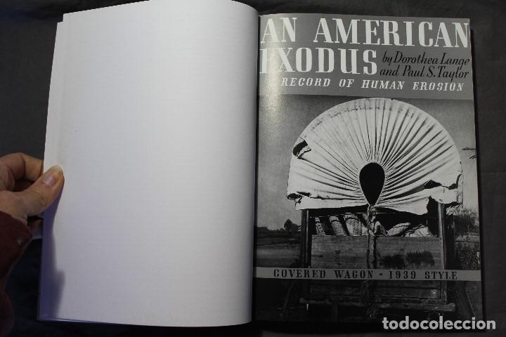 Libros de segunda mano: AN AMERICAN EXODUS.A RECORD OF HUMAN EROSION. DOROTHEA LANGE & PAUL TAYLOR.TEXTO EN INGLÉS Y FRANCÉS - Foto 5 - 195333720