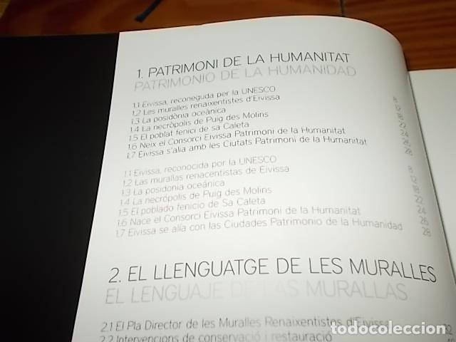 Libros de segunda mano: 10 AÑOS IBIZA PATRIMONIO DE LA HUMANIDAD 1999 -2009. HISTORIA, ARQUITECTUTA, ARQUEOLOGÍA... IBIZA - Foto 4 - 195336293