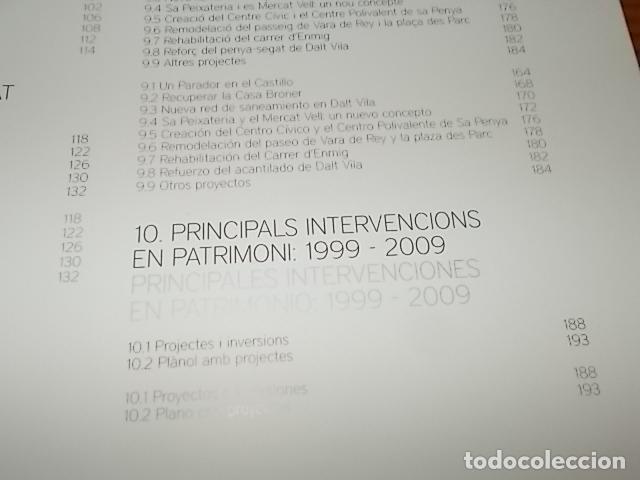 Libros de segunda mano: 10 AÑOS IBIZA PATRIMONIO DE LA HUMANIDAD 1999 -2009. HISTORIA, ARQUITECTUTA, ARQUEOLOGÍA... IBIZA - Foto 12 - 195336293