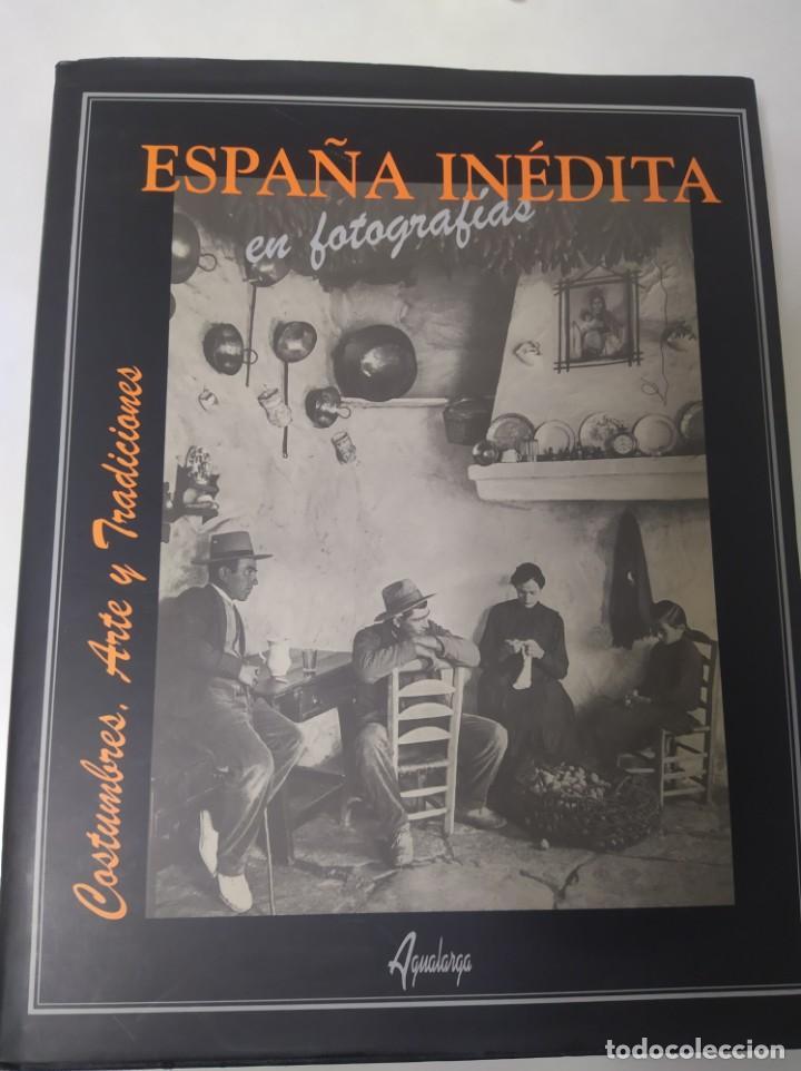 ESPAÑA INÉDITA EN FOTOGRAFÍAS KURT HIELSCHER EDITORIAL: AGUALARGA, MADRID (2000) (Libros de Segunda Mano - Bellas artes, ocio y coleccionismo - Diseño y Fotografía)