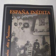 Libros de segunda mano: ESPAÑA INÉDITA EN FOTOGRAFÍAS KURT HIELSCHER EDITORIAL: AGUALARGA, MADRID (2000). Lote 195337092