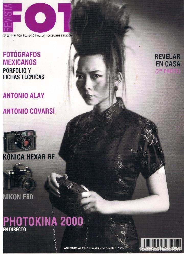 FOTO Nº 214. REVISTA. OCTUBRE 2000. (Libros de Segunda Mano - Bellas artes, ocio y coleccionismo - Diseño y Fotografía)