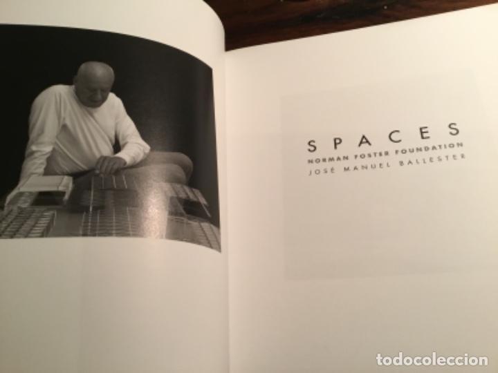 Libros de segunda mano: Spaces Norman Foster Jose Manuel Ballester Y - Foto 2 - 195345175