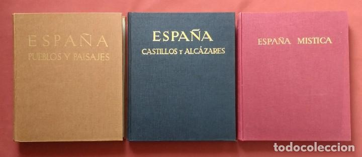 JOSE ORTIZ-ECHAGÜE - ESPAÑA: PUEBLOS Y PAISAJES - CASTILLOS Y ALCAZARES - MISTICA - AÑOS 60. (Libros de Segunda Mano - Bellas artes, ocio y coleccionismo - Diseño y Fotografía)