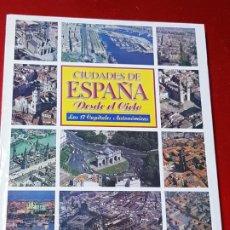 Libros de segunda mano: LIBRO-CIUDADES DE ESPAÑA DESDE EL CIELO-ABC+BANCO CENTRAL HISPANO-1996-BUEN ESTADO-VER FOTOS. Lote 195502143