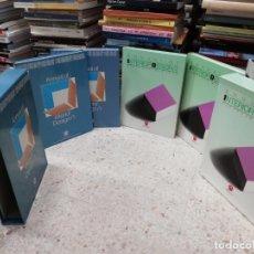 Libros de segunda mano: ANNUAL OF INTERIOR DESIGN / ANUAL DE DISEÑO INTERIOR. VOLUMEN 1 Y 2. 4 TOMOS. ATRIUM . ARQUITECTURA. Lote 195539851