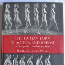Libros de segunda mano: P. BRODATZ & D. WATSON. THE HUMAN FORM IN ACTION AND REPOSE. FIGURA HUMANA Y FOTOGRAFÍA. N.Y., 1966. Lote 195543928