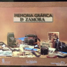 Libros de segunda mano: 442 FOTOGRAFIAS ANTIGUAS. MEMORIA GRÁFICA DE ZAMORA. 1999-2000.. Lote 195570902