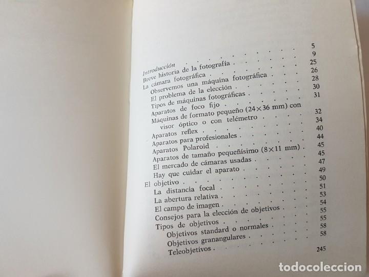 Libros de segunda mano: MANUAL DE FOTOGRAFÍA - TANI CAPACCHIONE / JUAN CARLOS VIOTTI - ED. DE VECCHI 1975 - Foto 9 - 196898178