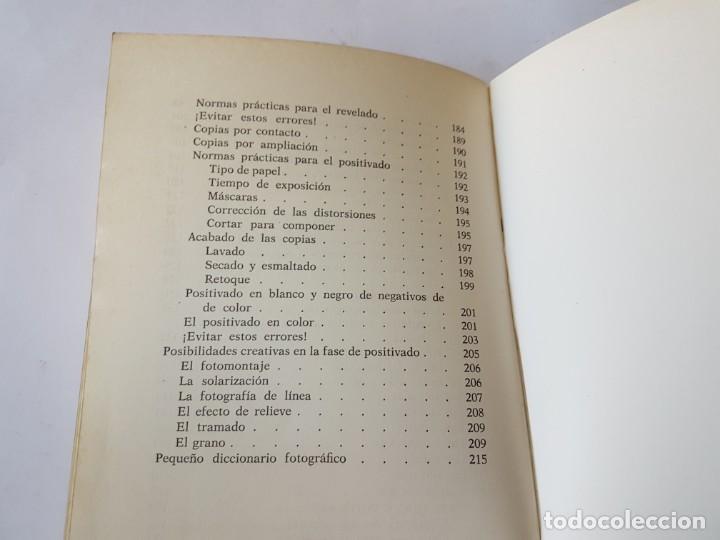 Libros de segunda mano: MANUAL DE FOTOGRAFÍA - TANI CAPACCHIONE / JUAN CARLOS VIOTTI - ED. DE VECCHI 1975 - Foto 11 - 196898178