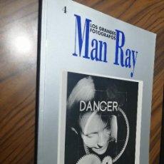 Libros de segunda mano: MAN RAY. LOS GRANDES FOTOGRAFOS 4. ORBIS. RÚSTICA. BUEN ESTADO. Lote 262321265