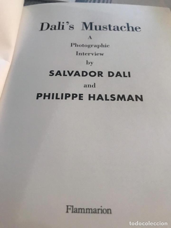 Libros de segunda mano: DALÍ SALVADOR , LIBRO DALIS MUSTACHE - Foto 2 - 197806027