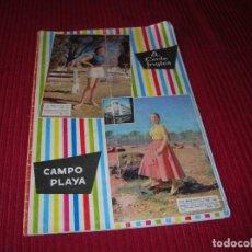 Libros de segunda mano: CATÁLOGO DEL CORTE INGLÉS AÑOS 50 CAMPO Y PLAYA. . Lote 198047008
