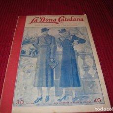 Libros de segunda mano: REVISTA LA DONA CATALANA.AÑO 1935.. Lote 198127281