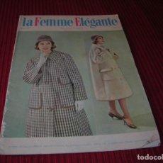 Libros de segunda mano: REVISTA .LA FEMME ELEGANTE.AÑOS 60 INVIERNO . Lote 198624883