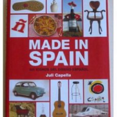Libros de segunda mano: MADE IN SPAIN JULI CAPELLA 101 ICONOS DEL DISEÑO ESPAÑOL ... ZKR. Lote 198727655