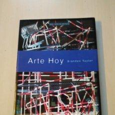 Libros de segunda mano: ARTE HOY - BRANDON TAYLOR. AKAL. Lote 198772133