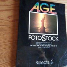 Libros de segunda mano: A.G.E. FOTOSTOCK. SELECTS 3. Lote 199387986