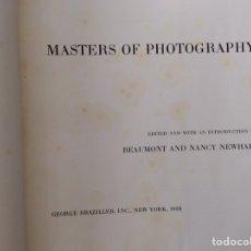 Libri di seconda mano: MASTERS OF PHOTOGRAPHY. Lote 199435031