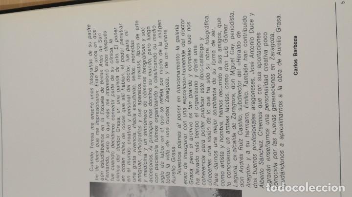 Libros de segunda mano: AURELIO GRASA - 1893 - 1972 - GALERIA COSTA 3 ZARAGOZA ARAGONQ105 - Foto 6 - 199678060