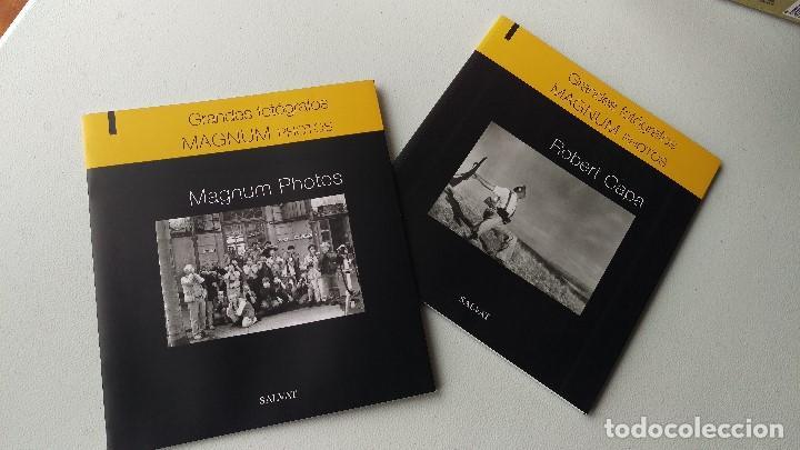 MAGNUM PHOTOS ROBERT CAPA (Libros de Segunda Mano - Bellas artes, ocio y coleccionismo - Diseño y Fotografía)