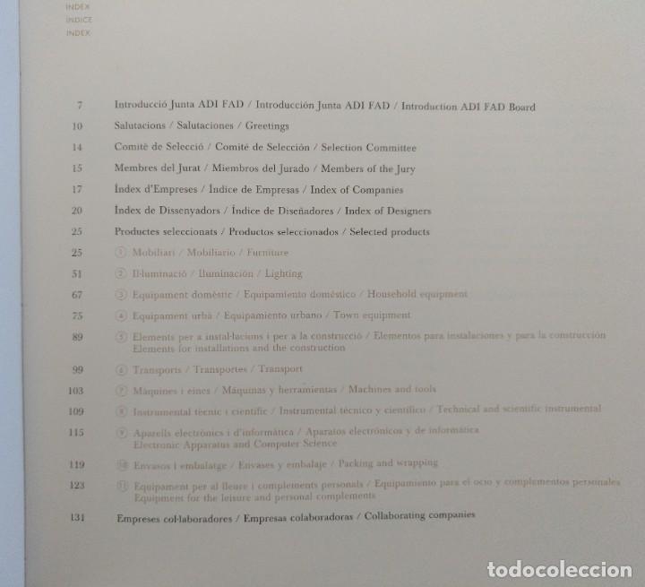 Libros de segunda mano: PREMIOS DELTA ADI FAD 1990 CATALOGO PRODUCTOS SELECCIONADOS. DISEÑO - Foto 6 - 203053487