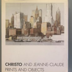 Libros de segunda mano: CHRISTO AND JEANNE-CLAUDE: PRINTS AND OBJECTS 1963-95 : A CATALOGUE RAISONNE. Lote 203153567