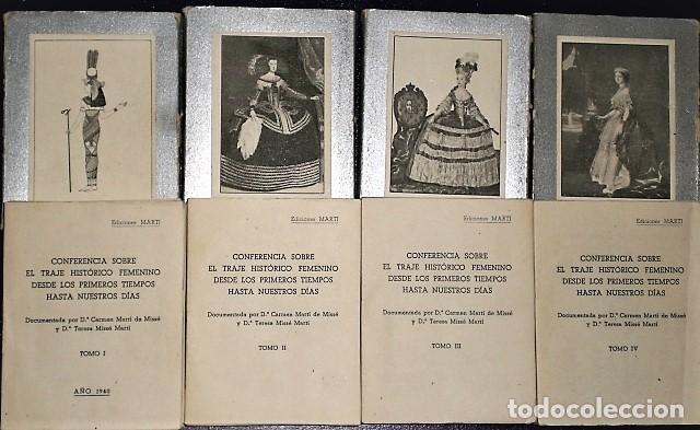 Libros de segunda mano: CONFERENCIA SOBRE EL TRAJE HISTÓRICO FEMENINO DESDE LOS PRIMEROS TIEMPOS HASTA NUESTROS DÍAS - Foto 4 - 203466490