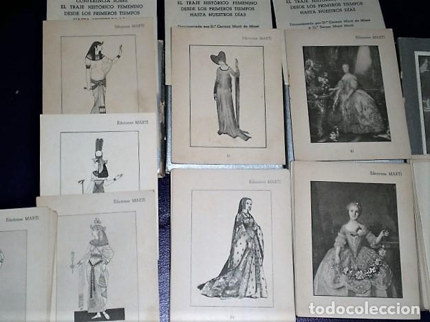 Libros de segunda mano: CONFERENCIA SOBRE EL TRAJE HISTÓRICO FEMENINO DESDE LOS PRIMEROS TIEMPOS HASTA NUESTROS DÍAS - Foto 5 - 203466490