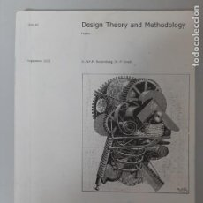 Libros de segunda mano: ID-4010, SEPT 2003: DESIGN THEORY AND METHODOLOGY, ROOZENBURG-LLOYD, DISEÑO / DESIGN. Lote 204789722