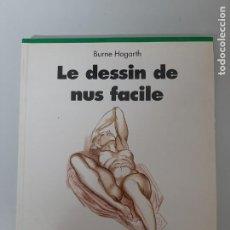 Libros de segunda mano: LE DESSIN DE NUS FACILE, BURNE HOGARTH, DISEÑO-PINTURA / DESIGN-PAINTING, TASCHEN, 1993. Lote 205405393