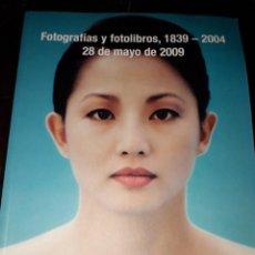 Libros de segunda mano: LIBRO 1422 FOTOGRAFIAS Y FOTOLIBROS SOLER Y LLACH 28 DE MAYO 2009. Lote 206256268