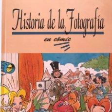 Libri di seconda mano: HISTORIA DE LA FOTOGRAFÍA EN CÓMIC, POR MIGUEL Y COS (FOTO SISTEMA, 1994).. Lote 206368556