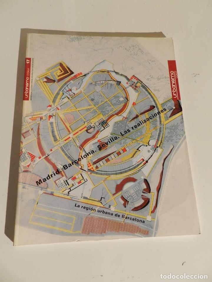 URBANISMO 17 (COAM) REVISTA 1997 ARQUITECTURA (Libros de Segunda Mano - Bellas artes, ocio y coleccionismo - Diseño y Fotografía)