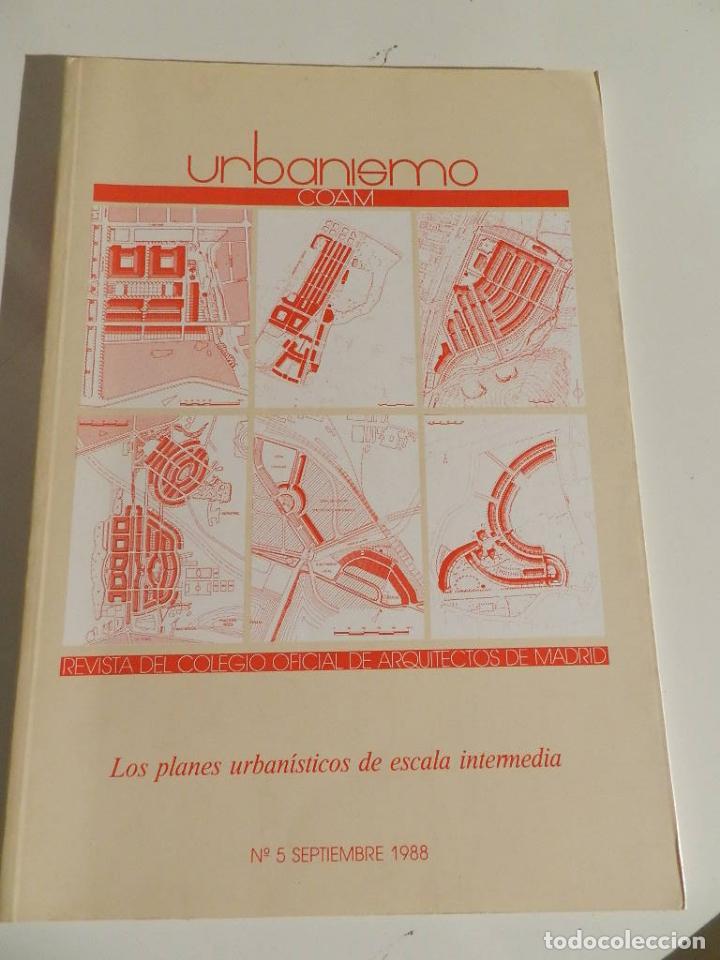 URBANISMO 5 (COAM) REVISTA 1997 ARQUITECTURA (Libros de Segunda Mano - Bellas artes, ocio y coleccionismo - Diseño y Fotografía)
