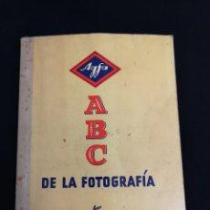 Libros de segunda mano: AGFA ABC DE LA FOTOGRAFIA. Lote 206592025