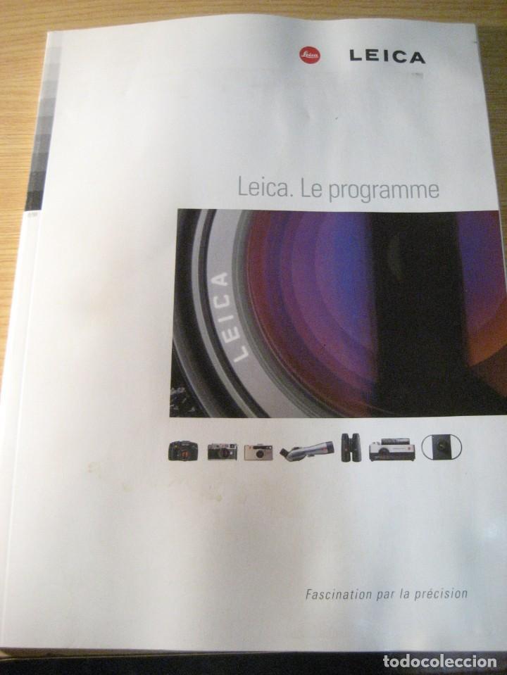CATALOGO LIBRO CAMARAS LEICA - 1998 128 PAGINAS , NUMEROSAS FOTOS, ESPECIFICACIONES.. EN FRANCÉS (Libros de Segunda Mano - Bellas artes, ocio y coleccionismo - Diseño y Fotografía)