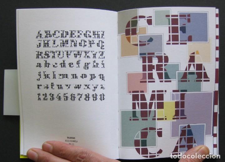 Libros de segunda mano: Vaya Tipo! – catálogo exposición 2003 – ACDV – Diseño tipográfico español - Foto 2 - 206914730