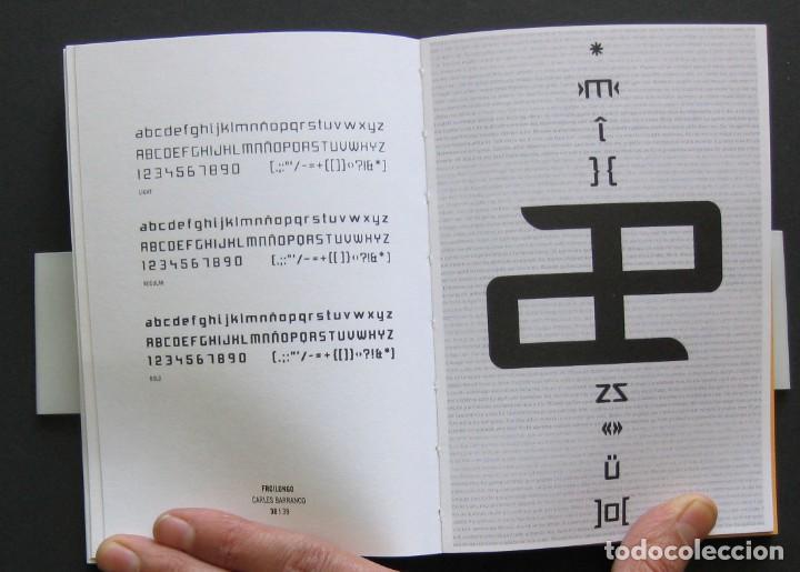 Libros de segunda mano: Vaya Tipo! – catálogo exposición 2003 – ACDV – Diseño tipográfico español - Foto 3 - 206914730