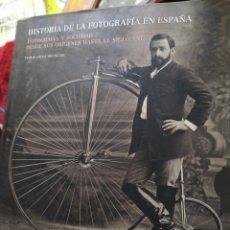 Livres d'occasion: HISTORIA DE LA FOTOGRAFÍA EN ESPAÑA LÓPEZ MONDÉJAR PUBLIO 689 PÁGINAS. Lote 207271118