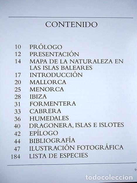 Libros de segunda mano: La naturaleza en Baleares · Mateo Castello - Foto 2 - 208423327