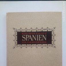 Libri di seconda mano: SPANIEN - KARFELD - 1942. Lote 208448620