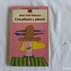 """Libros de segunda mano: LIBRO """"CON PLUMA Y PINCEL"""". Lote 208977932"""