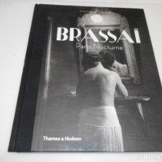 Livres d'occasion: SYLVIE AUBENAS / QUENTIN BAJAC BRASSAÏ PARIS NOCTURNE ( EN INGLÉS) Q1460A. Lote 209749418