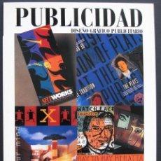 Libros de segunda mano: PUBLICIDAD. DISEÑO GRÁFICO PUBLICITARIO – BIBLIOTECA DE DISEÑO GUSTAVO GILI. Lote 209974585