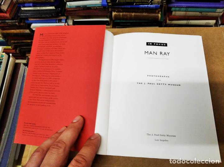 Libros de segunda mano: MAN RAY . FOTOGRAFÍAS DEL THE J. PAUL GETTY MUSEUM . 1ª EDICIÓN 1998. RETRATOS - Foto 3 - 211470937