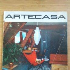 Livres d'occasion: ARTECASA. RIVISTA MENSILE ITALIANA DI ARRENDAMENTO. NUM 10, JULIO 1960. DIREZIONE FULVIO ANGIOLINI. Lote 211693900