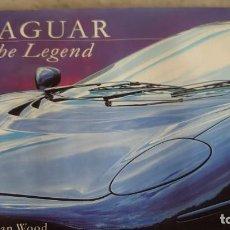 Libros de segunda mano: JAGUAR. THE LEGEND. JONATHAN WOOD. 1998. INGLÉS PRPM 38. Lote 212006943