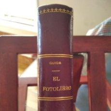 Libros de segunda mano: EL FOTOLIBRO-GUIA ENCICLOPEDICA FOTOGRAFIA-S.GUIDA-EDIT. CIENTIFICA TECNICA-1949-EXCELENTE. Lote 212744811