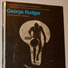 Libros de segunda mano: GEORGE RODGER - GORDON FRASER PHOTOGRAPHIC - MONOGRAFÍA - 1975. Lote 213041248
